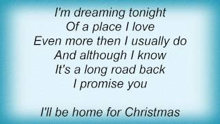 Barry Manilow - I'll Be Home For Christmas Lyrics_1