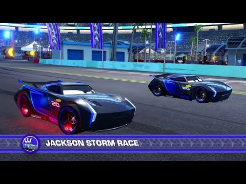 Cars 3: Driven to WIn (PS4) Gameplay - Jackson Storm vs. Jackson Storm (Who's the real Champion?)