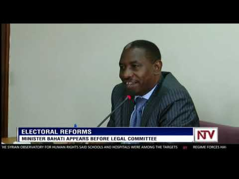 Minister Bahati appears before legal committee