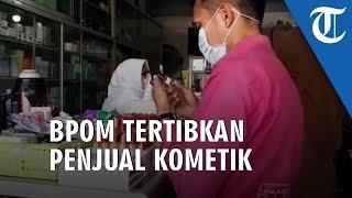 BPOM Kabupaten HSU Lakukan Penertiban Penjulan Produk Kosmetik di Pasar Tanjung