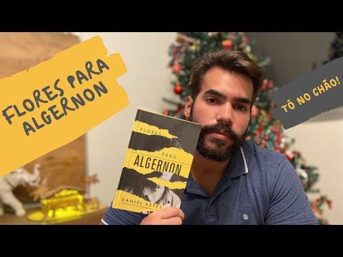FLORES PARA ALGERNON... TÔ NO CHÃO! | RESENHANDO