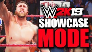 WWE 2K19 - DANIEL BRYAN'S SHOWCASE MODE!! (First 3 Matches)