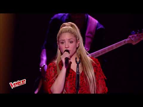 Shakira- Me Enamore Live- The voice France 2017