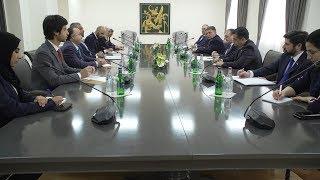 Встреча Министра иностранных дел Зограба Мнацаканяна с госминистром ОАЭ Ахмад Али Аль-Сайехом