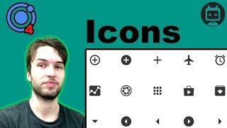 Ionic 4 Icon Tutorial