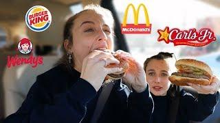 ULTIMATE VEGGIE BURGER TASTE TEST *FAST FOOD*