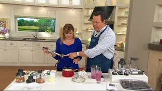 KitchenAid 5 Speed Hand Blender with Attachments and Storage Case on QVC