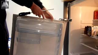 preview picture of video 'Electrolux Fridge Repair - Replace the Door Hinges - Lewisham - London'