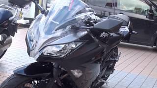 美人ライダー 最新型 2017 Kawasaki  Ninja250 2017 カワサキ・ニンジャ250 EX250L 2008 HONDA CBR1000RR 美人カワサキガール
