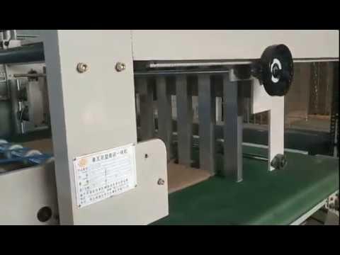 Automatic Vertical Type Corrugating Machine