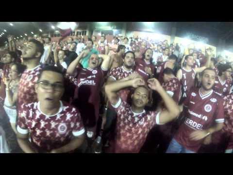 """""""Vamo vamo vamo Desportiva"""" Barra: Grenamor • Club: Desportiva Ferroviária"""