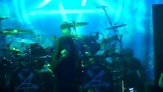 "Anthrax  ""Earth on Hell"" @ The HOB Anaheim CA. 1-23-2012"
