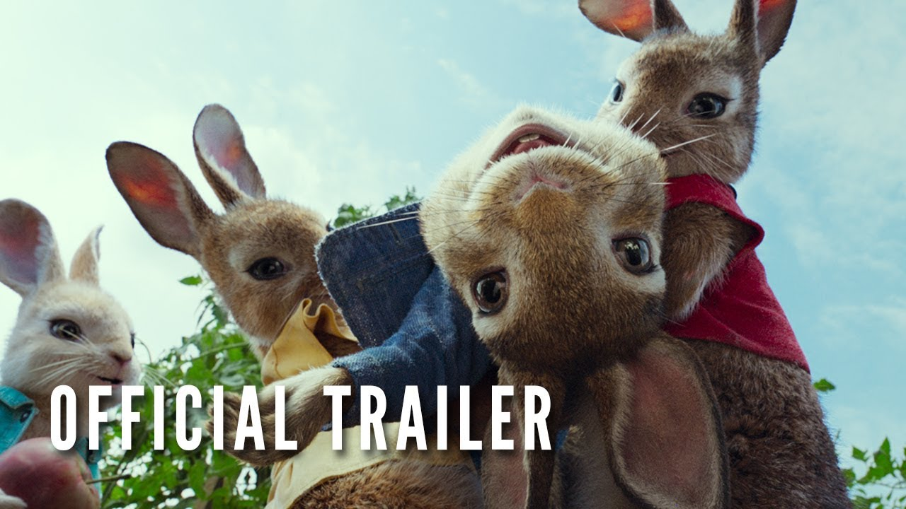 Video trailer för PETER RABBIT - Official Trailer #2
