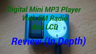 Digital MP3 Player With LCD, Fm Radio, Sd Card Support Up To 32gb Review