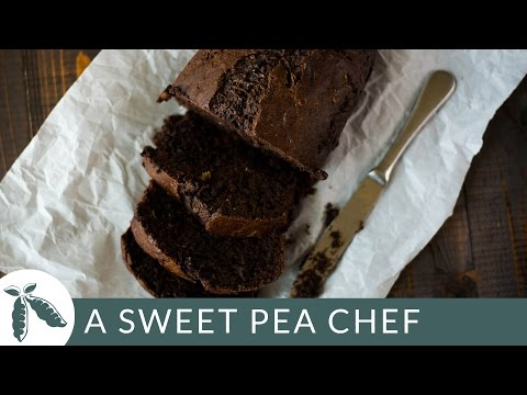 Video Healthy Chocolate Zucchini Bread | A Sweet Pea Chef