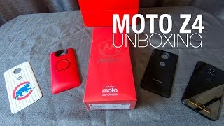 Motorola Moto Z4 Unboxing and First Look!