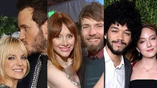 Jurassic World: Fallen Kingdom ... and their real life partners