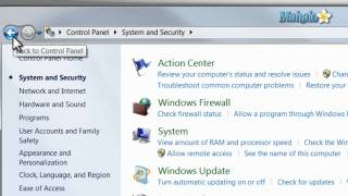 Learn Windows 7: Using the Control Panel