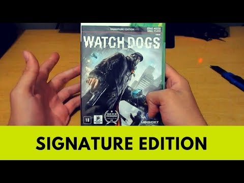 Watch Dogs (Signature Edition) - XBOX 360 Unboxing