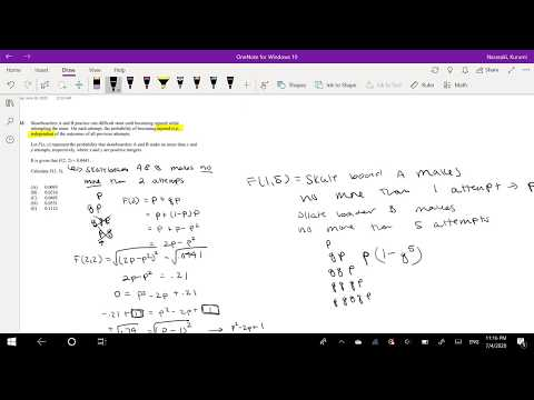 SOA Exam P Question 303 | Multivariate Cumulative Distribution ...