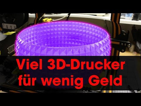 Creality3D CR-10 3D-Drucker - Taugt der was? - Review & Unboxing