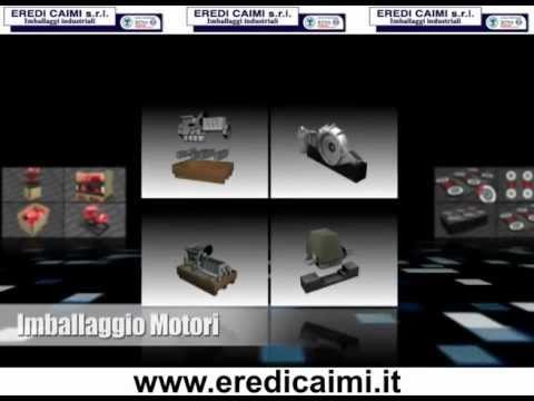 Progettazione imballaggi industriali EREDI CAIMI