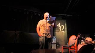 Bill Johnston Reading The Breathless Life At AQ, Apr 15 2013