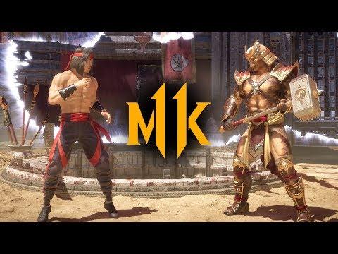 Mortal Kombat 11 - Liu Kang vs. Shao Kahn (VERY HARD)
