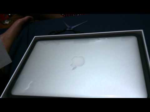 Unboxing MacBook Air Mid 2013 MD711 Haswell Intel 4th Gen Chipset