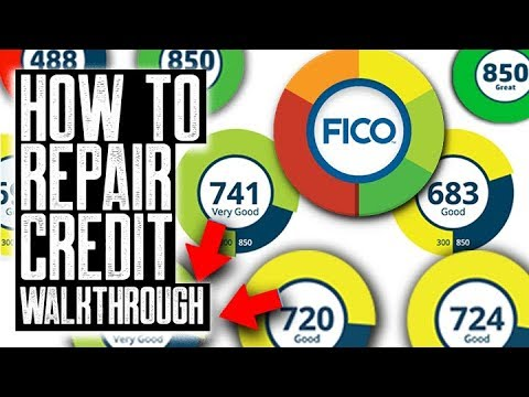 HOW TO REPAIR YOUR CREDIT WALK THROUGH || BASICS & ADVANCED TECHNIQUES