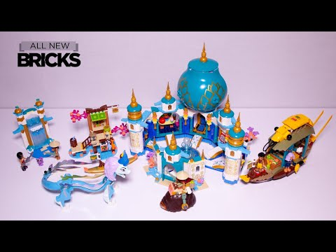 Vidéo LEGO Disney 43181 : Raya et le Palais du Cœur