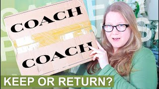 Unboxing TWO Coach Handbags || Autumn Beckman