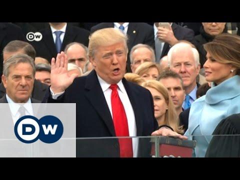 Donald Trump sworn in as 45th US president | DW News