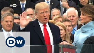 Donald Trump sworn in as 45th US president | DW News