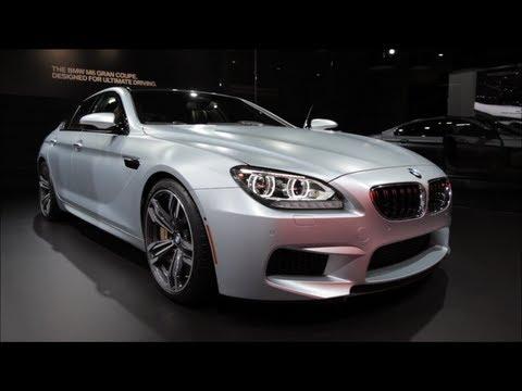 2014 BMW M6 Gran Coupe - 2013 Detroit Auto Show