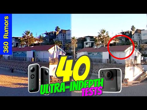 Insta360 VS GoPro - Stabilization Comparison - смотреть