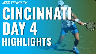 Andrey Rublev stunned Roger Federer while Novak Djokovic cruised on Day 4 in Cincinnati... Watch official ATP tennis streams from every tournament: http://tnn.is/YouTube  Subscribe to our channel: https://www.youtube.com/tennistv?sub_confirmation=1  Tennis TV is the OFFICIAL live streaming service of the ATP Tour.  Tennis TV features live streaming and video on demand of over 2,000 ATP tennis matches in full each year on PC, Mac, mobile & tablet apps on iOS & Android plus... Apple TV, Roku, Amazon Fire TV, Samsung Smart TV, Android TV, PlayStation 4, Xbox One and Chromecast. http://tnn.is/YouTube
