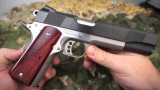 Colt 1911 Goverment Model Combat Elite 45ACP Pistol Review - Texas Gun Blog