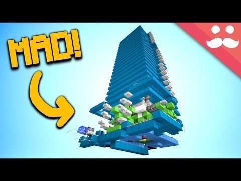 Minecraft Walkthrough - How to make a WORKING CLOCK TOWER in