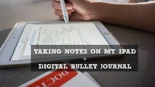 HowITakeNotesOnMyIPAD DigitalBulletJournal