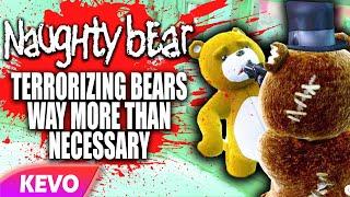 Naughty Bear, terrorizing bears way more than necessary