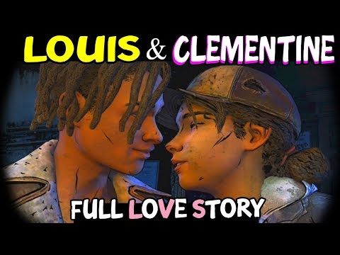 Download Louis & Clementine (FULL LOVE STORY) The Walking Dead The Final Season All Episodes - Louis Romance HD Mp4 3GP Video and MP3