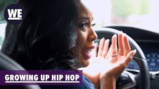 Angela Breaks Down After Speaking with Darian | Growing Up Hip Hop | WE tv
