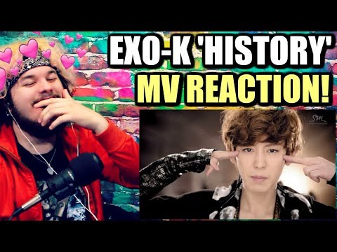 EXO-K 엑소케이 'History' MV (Korean Ver.) | THEY'RE ALL MY BIAS WRECKERS! | REACTION!!