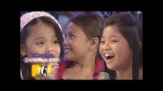 GGV: Lyca, Elha and Esang sing Christmas Carols
