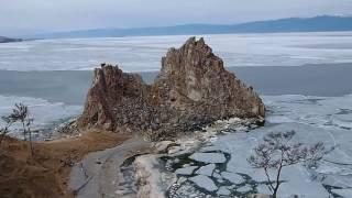 ロシアバイカル湖内シャーマニズムの聖地オリホン島/OlkhonIslandinLakeBaikal,May15