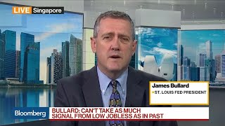 U.S. Growth Likely to Slow in 2019, Says Fed's Bullard