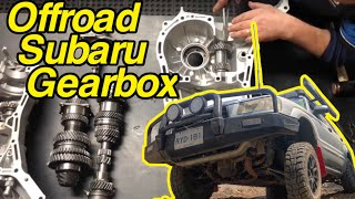 Subaru forester gets a custom offroad gearbox built by AllDriveSubaroo