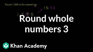 Rounding Whole Numbers 3