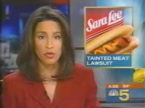Sara Lee Class Action - NBC 5 News - August 30, 2001 Video Image